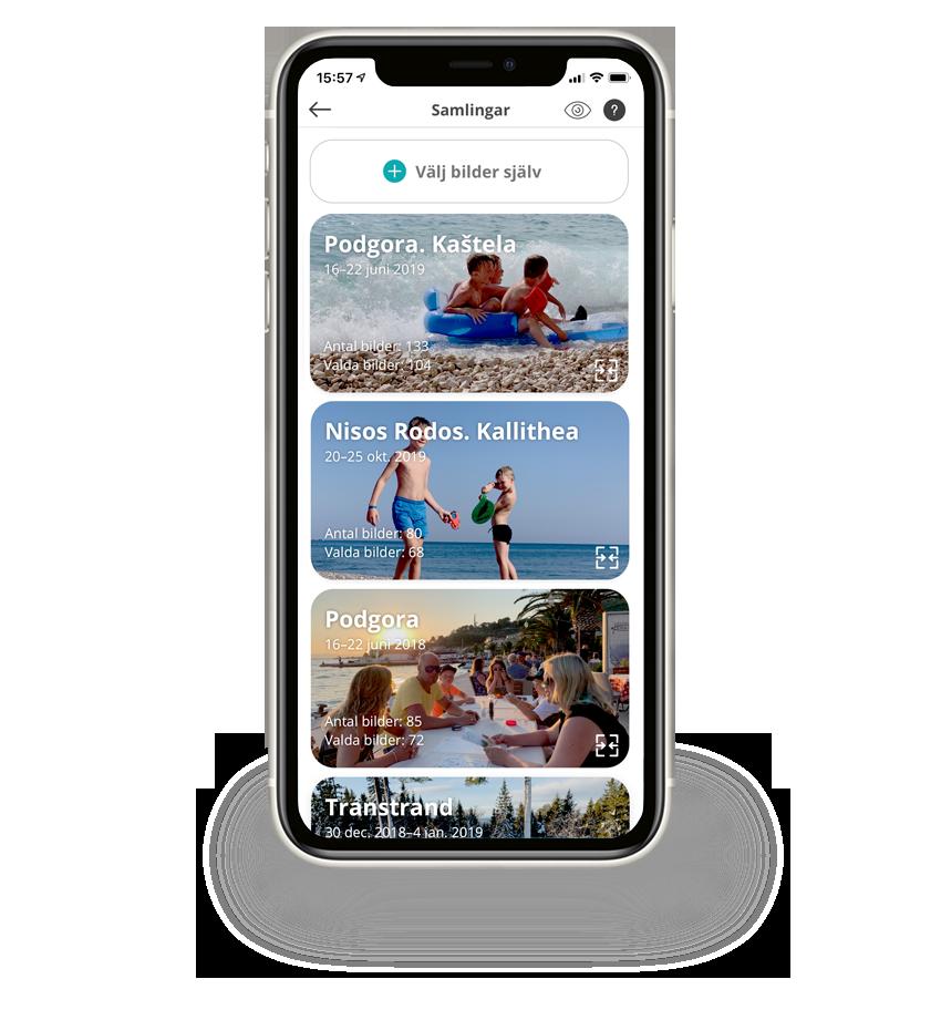 fotobok app samlingar