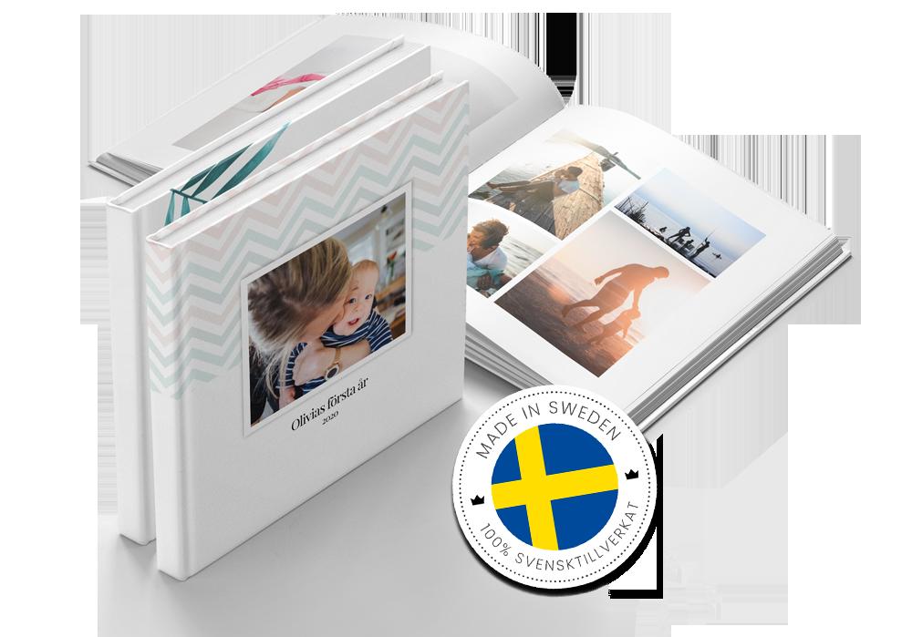 exklusiv fotobok svensktillverkad